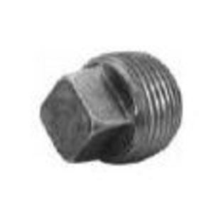 Matco-Norca MPB03 Square Head Plug, 1/2 Inch, Black, Steel
