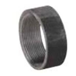 "Matco-Norca ZM-HCB03 Merchant Half Coupling, 1/2"", Straight, Black, Steel"