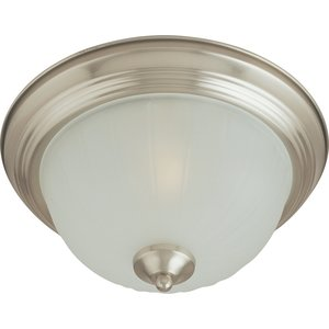 Maxim Lighting 5830FTSN Ceiling Light, 1-Light, 60W, Incandescent, Satin Nickel