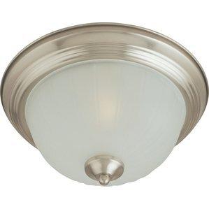 Maxim Lighting 5830FTSN Ceiling Light, 1-Light, 60W, Incandescent, Satin Nickel