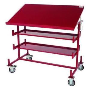 Maxis 56-82-55-01 Mobile Print Table & Work Station