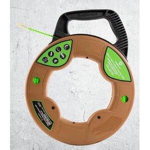 Maxis 63029901 Fish Tape, 3mm, 100' Non-Conductive, Medium Case