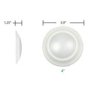 "Maxlite LFC41327W/V2 4"" LED Faux Can"