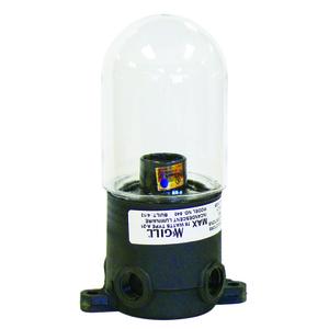 McGill 641 Utility Lgt W/plastic Globe
