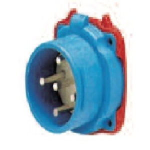 Meltric 33-38043 Switch Rated Inlet, 30A, 3P, 480V