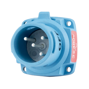 Meltric 63-18043 20 Amp, 480 Volt Plug, DSN20 Series