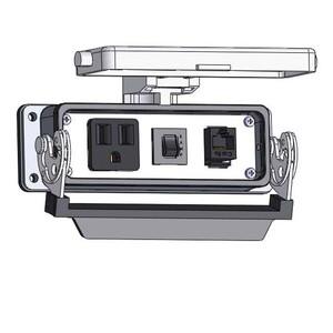 Mencom DP1-RJ45-R-24LS Panel Interface Connector