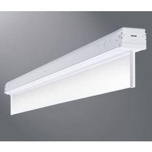 Metalux 8SKLED-LD1-10-N-277-L835-CD2-TEK100/277 8' LED Low Bay Luminaire, 10000 Lumen, 77 Watt, 3500K, 277V