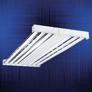 Metalux HBL632-UPL-L5 High Bay, T8, 4', 6-Lamp, 120/277V, 32W