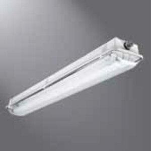 Metalux VT3-232DR-UNV-EB81-WL-GT4-U Vaportite Fixture, 4', 2-Lamp, T8, 120-277V, 32W