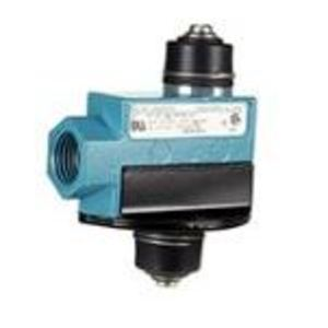 Micro Switch BZV6-RNX1 Limit Switch, Precision, Top Plunger, 1NO/NC, SPDT, 15A, 480VAC
