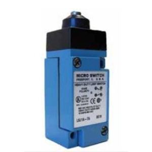 Micro Switch LSD1A Limit Switch, HDLS Series, Top Plunger, Roller, Plug-In