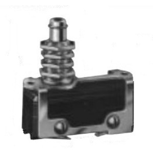 Micro Switch MCA2711 Auxiliary Actuator, Straight Plunger, Panel Mount, for BZ/BM Switch