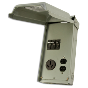 Midwest U051C 70A, 1P, 120/240V, Temporary Power