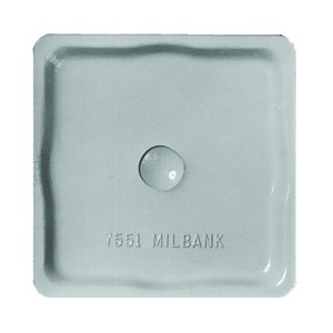Milbank A7551 Hub, Closure Plate, Small Opening, RL