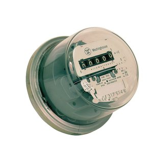 Milbank CL200 Watt Hour Meter, 200A, 120/240VAC, 1PH, 4 Lug