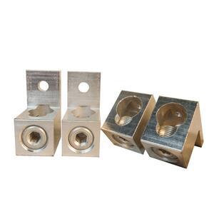 Milbank K3441 Meter, Lug Kit, 4AWG - 500MCM, 2 x 1/0AWG - 250MCM, TA500-S, Aluminum
