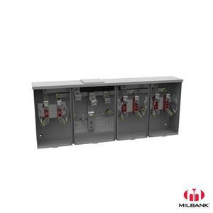 Milbank U1253-X-K3 200A 4T RL 3P CTR WY