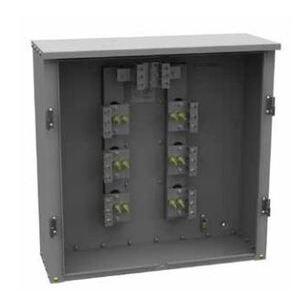 Milbank U1855-O-NE Current Transformer, Cabinets, 400-800A, 36H x 36W x 12D, Steel