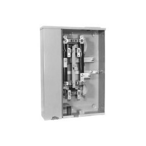 Milbank U2852-X Meter Banks, 2 Position, Vertical, 200A, Bus, 125A Socket, NEMA 3R