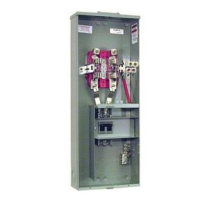Milbank U3791N-RXL-200-BL Meter Main, 200A, 120/240VAC, Ringless, No Distribution
