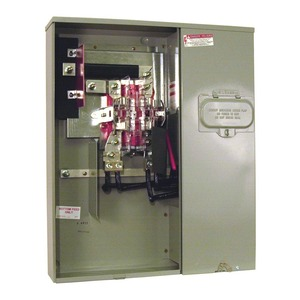 Milbank U4031-O-2/200 Meter Main, 320A, 4 Jaw, Socket, 200A Main Breaker, Side Wireway