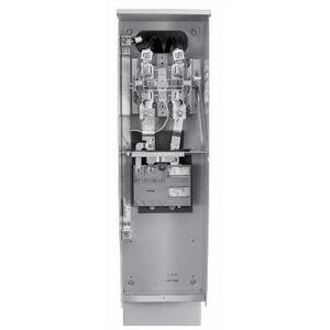 Milbank U5949-O-CDOT Meter Main Pedestal, Cold Sequence, 200A, 240VAC, 4 Jaw, Ringless
