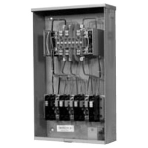 Milbank UC7445-O-311-NOE Meter Base, 20A, 13 Jaw, Ringless, 600VAC, No Bypass, Test Switch
