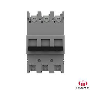Milbank UQFB-3200 Breaker, Molded Case, 200A, 240VAC, 3P, Main Type, F Frame, 10kAIC