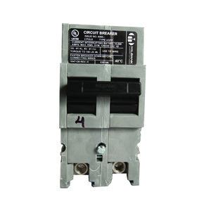 Milbank UQFP-100 Breaker, Plug-In, 100A, 240VAC, 2P, 1PH, Thermal Magnetic, 10kAIC