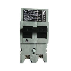 Milbank UQFP-200 Breaker, Plug-In, 200A, 240VAC, 2P, 1PH, Thermal Magnetic, 10kAIC