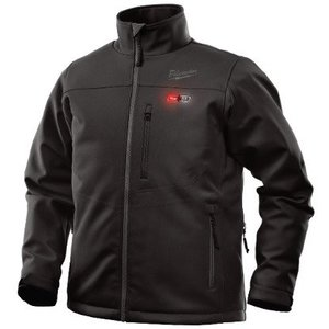 Milwaukee 201B-20L M12 Black Heated Jacket L
