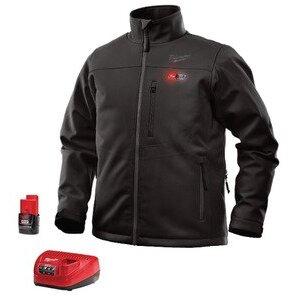 Milwaukee 201B-21L M12 Black Heated Jacket Kit L