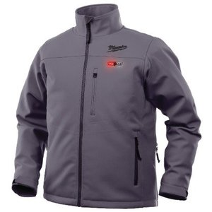 Milwaukee 201G-20L M12 Gray Heated Jacket L