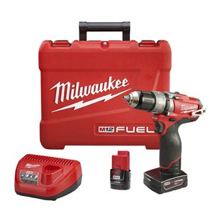 "Milwaukee 2404-22 M12 FUEL 1/2"" Hammer Drill/Driver Kit"