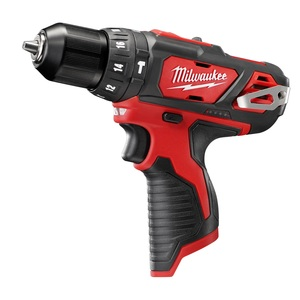 "Milwaukee 2408-20 3/8"" M12 Hammer Drill/Driver Bare Tool"