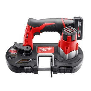 Milwaukee 2429-21XC 12V Cordless Sub-Compact Band Saw Kit