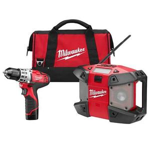 Milwaukee 249222 M12™ Cordless Lithium-Ion 2-Tool Combo Kit