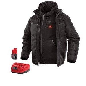 Milwaukee 251B-21XL M12 Black 3-in-1 Heated Jacket Kit XL