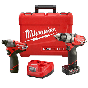 Milwaukee 2594-22 M12 Fuel 2-Tool Combo Kit