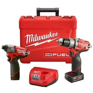 Milwaukee 2597-22 M12 FUEL 2-Tool Combo Kit