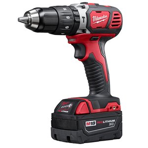 "Milwaukee 2607-22 M18™ Compact 1/2"" Hammer Drill/Driver Kit"