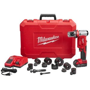 "Milwaukee 2677-21 M18™ FORCE LOGIC™ 6T Knockout Tool 1/2"" - 2"" Kit"