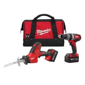 Milwaukee 2695-22 M18 Cordless Tool Kit