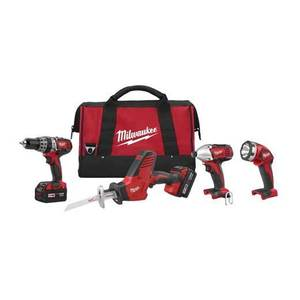 Milwaukee 2695-24 M18 Cordless Tool Kit