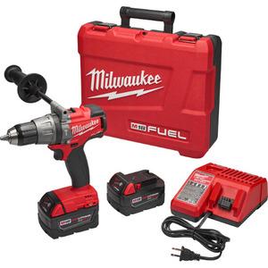 Milwaukee 2704-22 M18 Fuel Cordless Hammer Drill/Driver Kit
