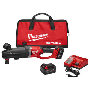 Milwaukee 2711-22 M18 FUEL™ SUPER HAWG™ Right Angle Drill Kit