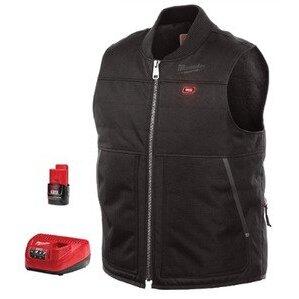 Milwaukee 271B-21S M12 Black Heated Vest Kit S