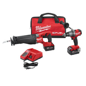 Milwaukee 2894-22 M18 Fuel Cordless 2-Tool Combo Kit
