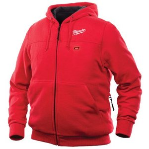 Milwaukee 301R-202X M12 Red Heated Hoodie XXL
